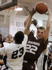 Phil Valenti led Aquinas to the 2012 Class A state championship game, and he was named AGR Player of the Year.