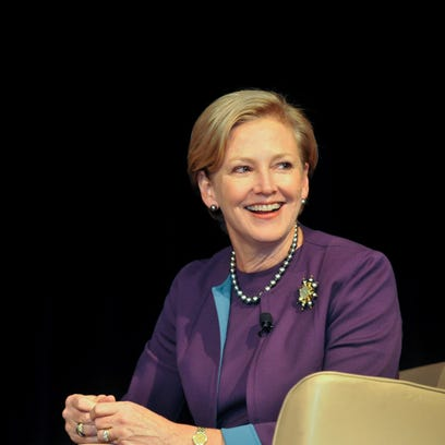 DuPont Chief Executive Ellen Kullman is the first woman