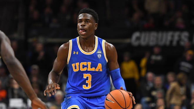 """""""His pedigree is unbelievable,"""" Suns Asst. GM Pat Connelly said of UCLA guard Aaron Holiday."""