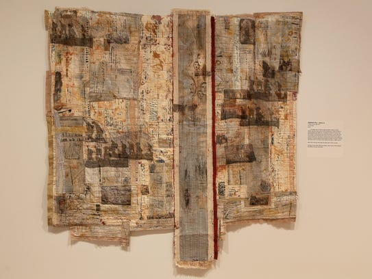 """""""A Place to Lay My Head,"""" an art quilt by Illinois"""