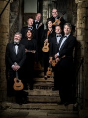 The Ukulele Orchestra of Great Britain performs at 7:30 p.m. Saturday in the Stephen B. Humphrey Theater at St. John's University.