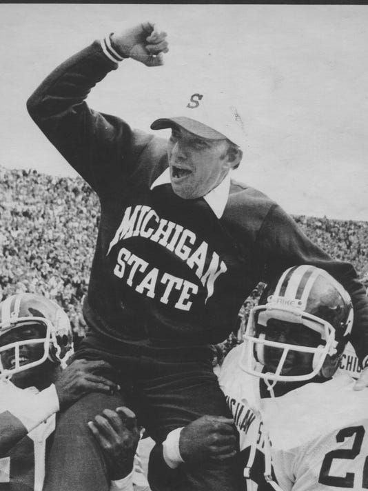 Rogers threw Michigan State for a loop