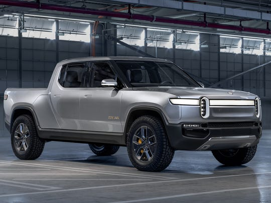 The R1T pickup is one of two models that Rivian hopes to have in production by the end of 2020.