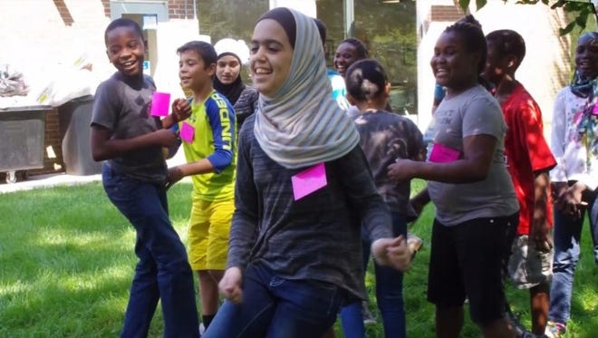 At the Refugee Youth Summer Academy, children learn English and explore art and music in a fun, safe, structured atmosphere.