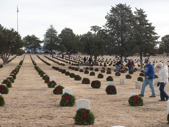 Wreaths Across America will come to the Fort Bayard
