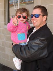 Scott Brayton with his daughter Carly.