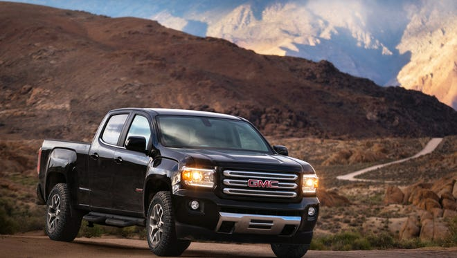 GMC today announced a broader 2017 GMC Canyon lineup led by the new, range-topping Canyon Denali and (pictured here) new, off-road-inspired All Terrain X.