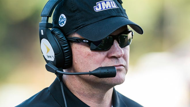 Mike Houston is leaving James Madison University to take the head football coaching job at East Carolina.