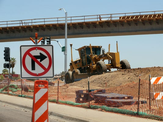 202 Freeway Construction