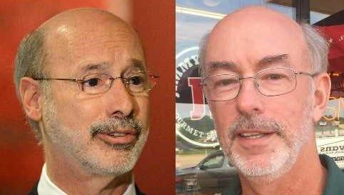 Tom Wolf and Joe McNichol: Separated at birth.