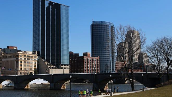 Downtown Grand Rapids.