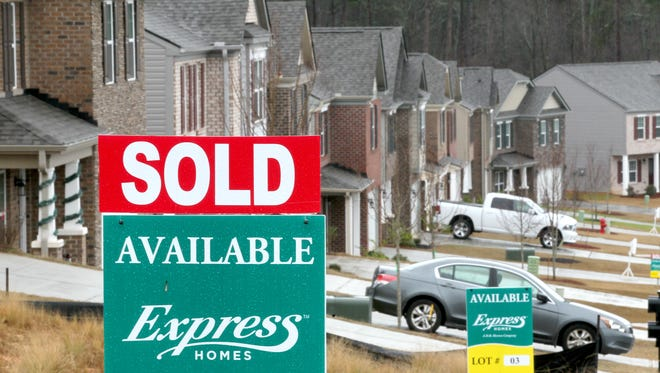 Several new homes listing for $160,000 to $190,000 in the Midway Ridge subdivision in Anderson have sold attached to them Monday.