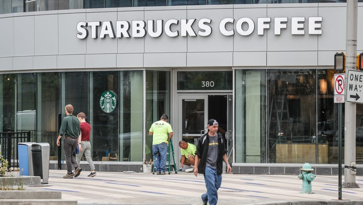 Indianapolis Starbucks will be among the first to go strawless on most drinks