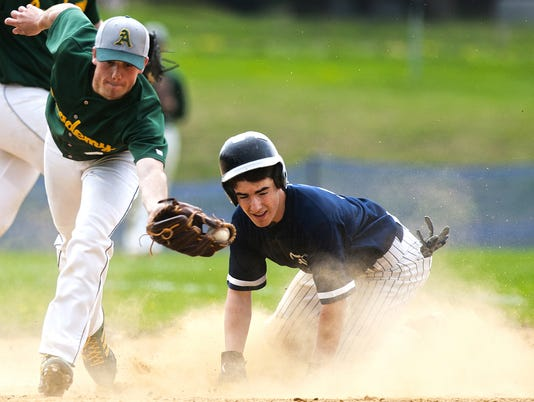 BFA St. Albans vs. Burlington Baseball 05/09/15