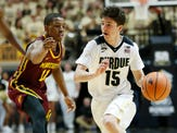 Purdue basketball walk-on Tommy Luce awarded his first scholarship for 2018-19