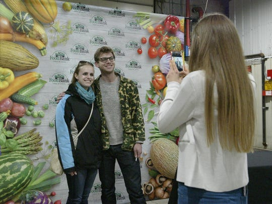 Manitowoc Minute comedian Charlie Berens poses for