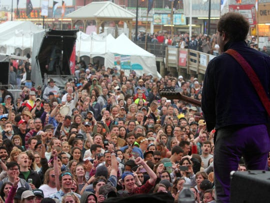 Last year's Gentleman of the Road festival drew tens of thousands to Seaside Heights.