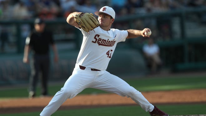 FSU?s Drew Parrish pitches eight scoreless innings as the Seminoles defeat Miami 2-0 on Friday at Dick Howser Stadium.
