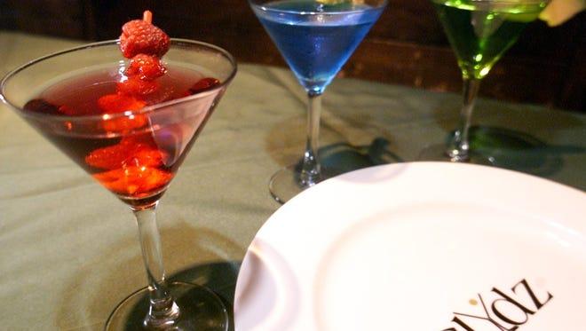 Clydz has an extensive drink menu and exotic food menu.