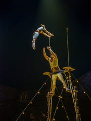 "Scene from ""Kurios — Cabinet of Curiosities."" Costumes: Philippe Guillotel"