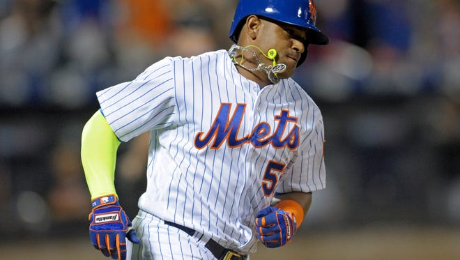 Mets' Yoenis Cespedes has agreed to stay in New York on a four-year, $110 million deal.