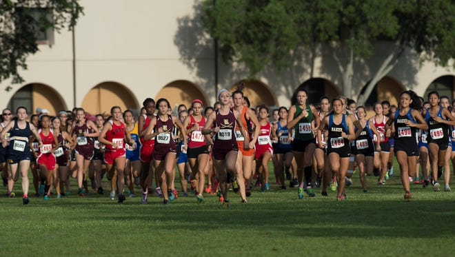 The Mariner Tritons Cross Country Invitational