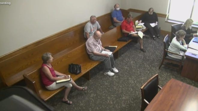 The Ionia County Board of Commissioners participated in a special meeting on Tuesday, June 30, in the Ionia County 64-A District Court Magistrate's Courtroom. The public participated via Zoom.