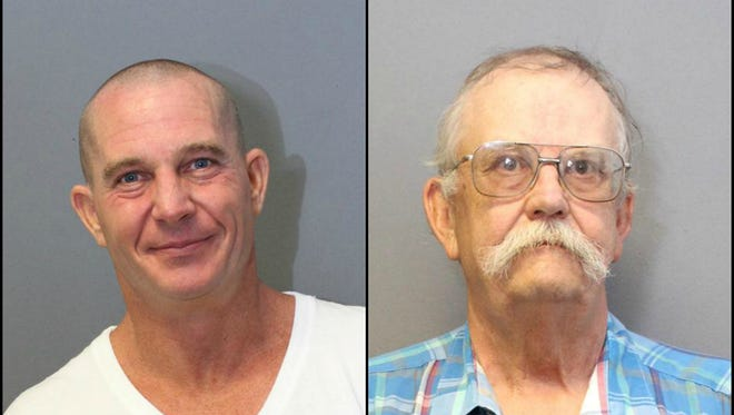 Craig Boening and Mark Maki were arrested and accused of luring a minor for sexual activity in Yavapai County, officials said.