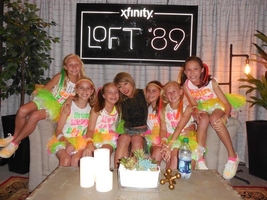 Taylor Swift invites local fans backstage in Charlotte