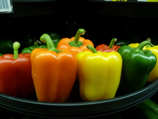Sweet Peppers in all colors