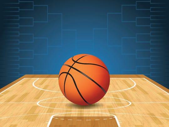 File Illustration - Basketball Tournament Bracket