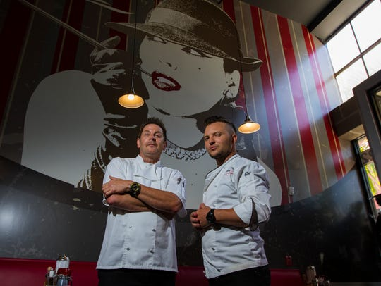 Flat Top Larry's has closed. Larry Lare, left, opened
