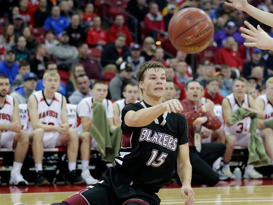 Samuel Meerstein has been to the WIAA state tournament twice. He wants to end his career by winning a championship.