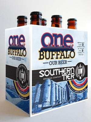 The Southern Tier One Buffalo six pack.