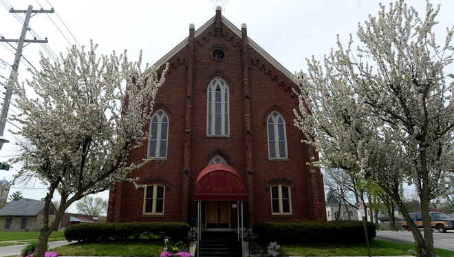 The Olde North Chapel at 200 N. 11th St. in Richmond.