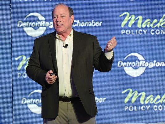 Detroit Mayor Mike Duggan