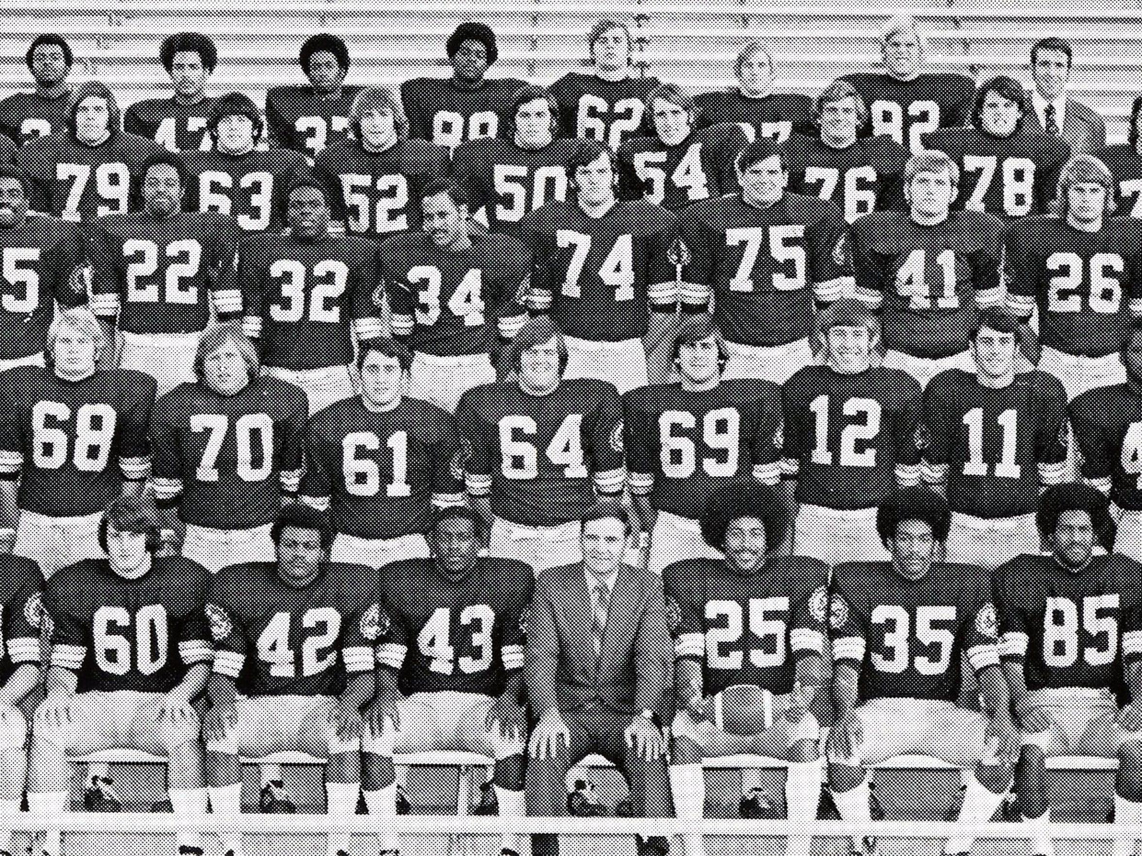 1972 ASU football team
