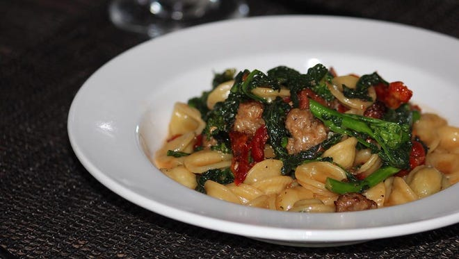 A signature dish at Marandola's, and one of the menu choices during Jersey Shore Restaurant Week, is orecchiette with broccoli rabe and sausage.