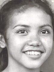 Tina CasimiroSport: VolleyballSchool: John F. KennedyPhoto archive date Sept. 15, 1981.
