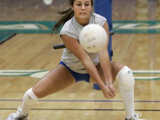 Florida Gulf Coast University volleyball player Brooke