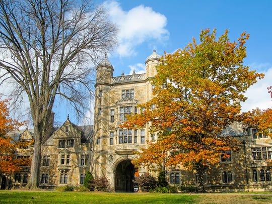 The Campus of the University of Michigan Law The renowned