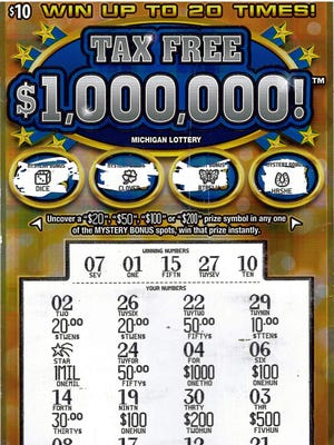A Grand Rapids woman recently won $1 million on a Michigan Lottery scratch-off ticket.