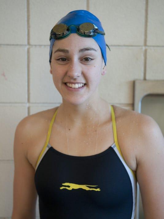 INI Carmel girls HS swimming