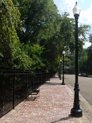 """Sidewalks improve the """"walkability"""" score of a neighborhood, which leads to increased home values. Belhaven is considered one of the more """"walkable"""" neighborhoods in Jackson."""