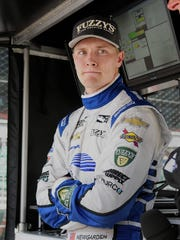Josef Newgarden was envisioning Victory Lane when a pit stop took him out of contention for the win.