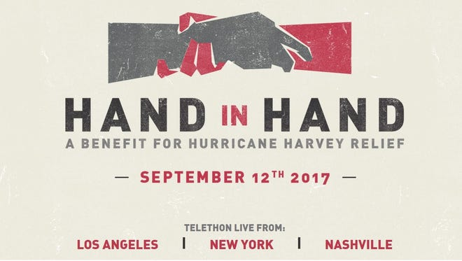'Hand in Hand: A Benefit for Hurricane Harvey Relief' airs September 12