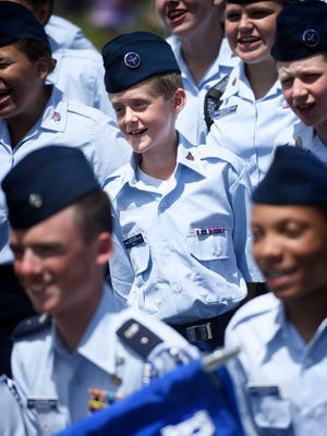 The PA Wing Civil Air Patrol Cadet Training Schools held a US Air Force style graduation and parade of over 240 cadets and from an eight day Civil Air Patrol premier leadership program on Sunday, June 25th at 11:00 am at Ft. Indiantown Gap.