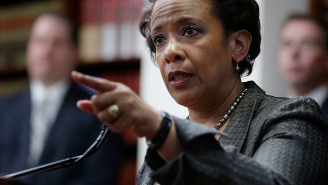 Loretta Lynch, in her role as U.S. attorney for the Eastern District of New York.