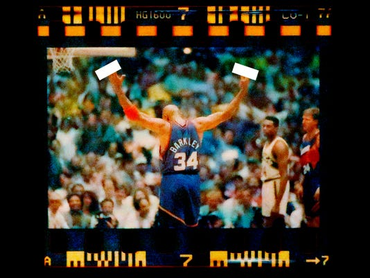 Barkley 1993 game 6 Western Conference Finals