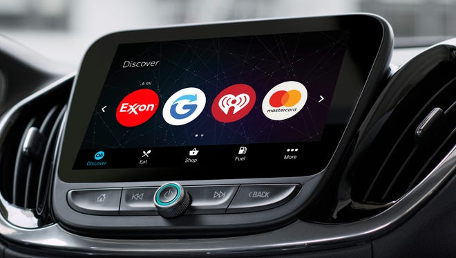 General Motors is pairing IBM's artificial intelligence system Watson with its infotainment platform to create OnStar Go, which will be able to make dining recommendations and retrieve prescriptions, among other capabilities.